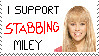 Stab Miley Stamp by Rosslaye