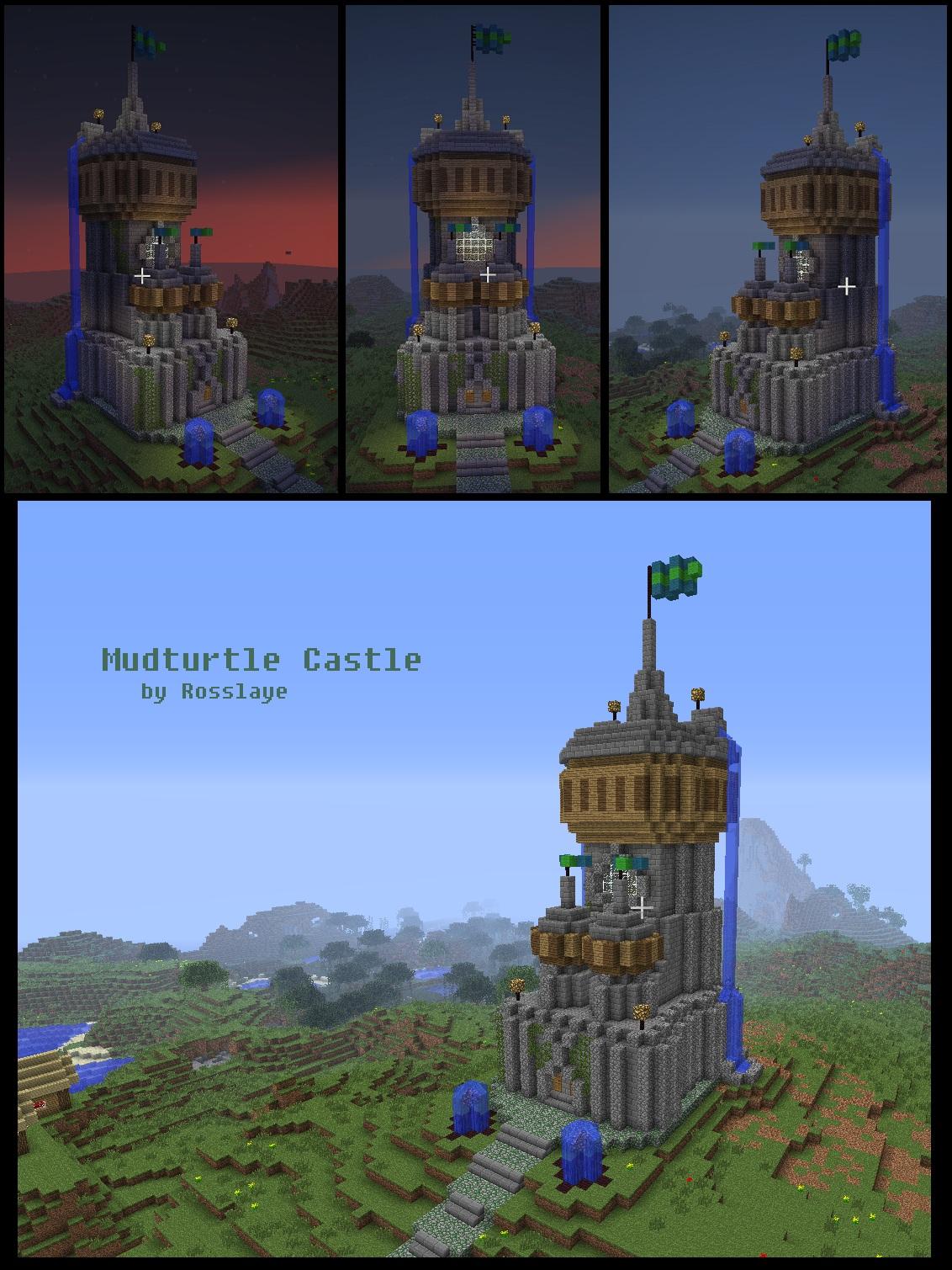 Mudturtle castle minecraft architecture by rosslaye on deviantart - Minecraft and architecture ...