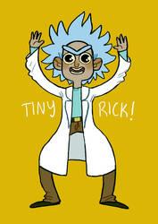 Tiny Rick by Rosslaye