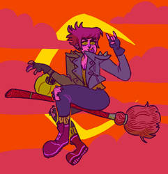 Punk Witch by Rosslaye