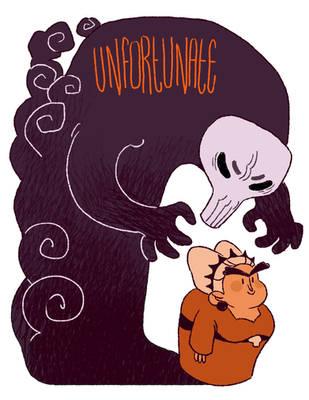 Unfortunate Poster by Rosslaye