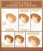Tutorial: How i color hair by Shuruya