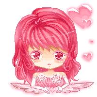 Rosy Pixel by Shuruya