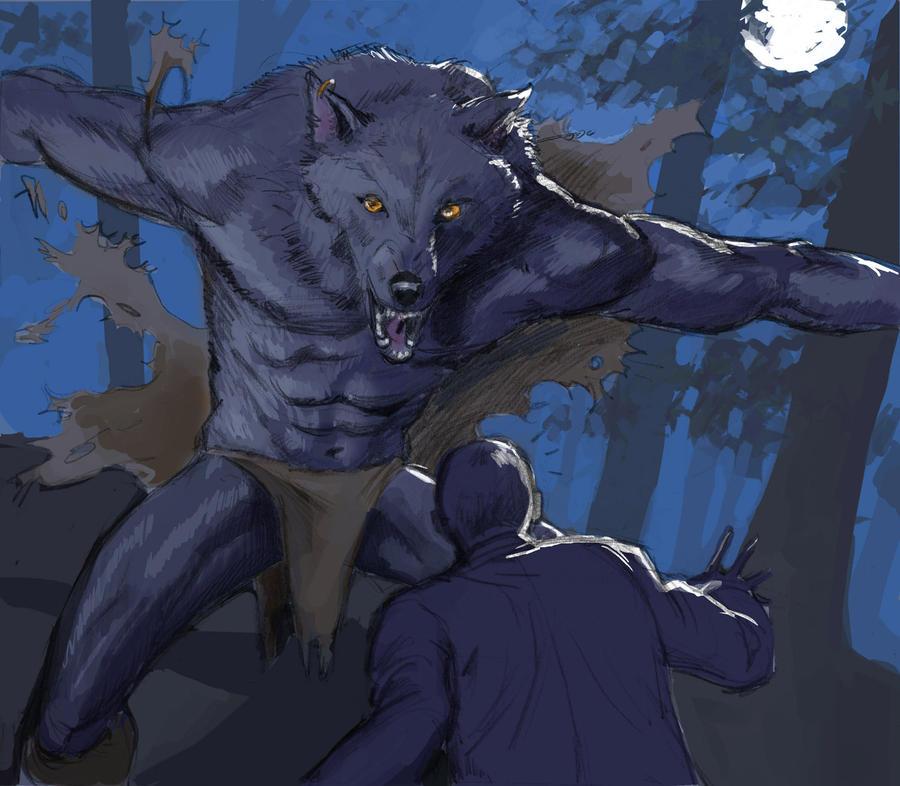 Werewolf by AdamShaw