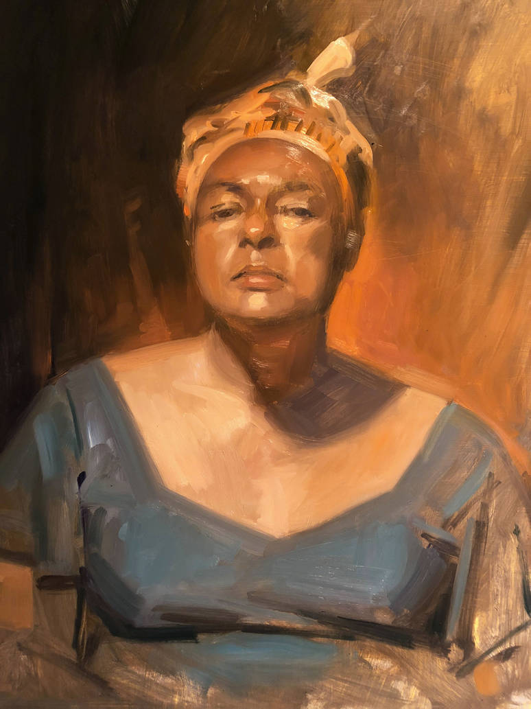 Oil Portrait by AdamShaw