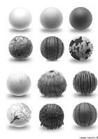 Material Studies by Inkdotdev