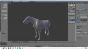 Horse Model WIP