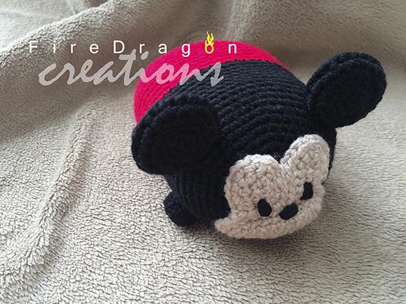 Amigurumi   Como hacer Mickey mouse en crochet   Bibi Crochet ...   443x591
