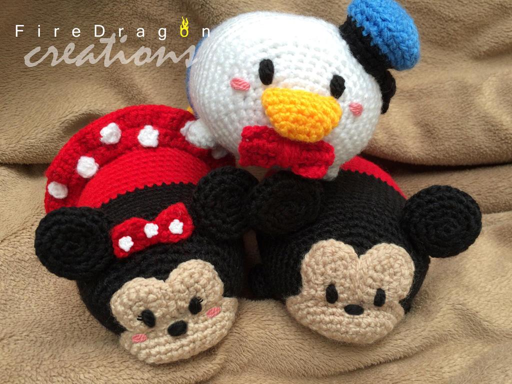 Tsum Tsum Disney Amigurumi : Tsum Tsum Amigurumi by acapulco1402 on DeviantArt
