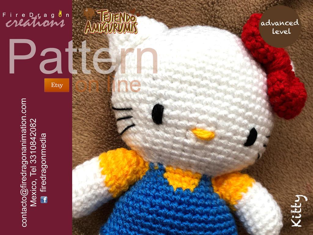 Crochet Hello Kitty Amigurumi Cuteness by Suzy Dias | 768x1024