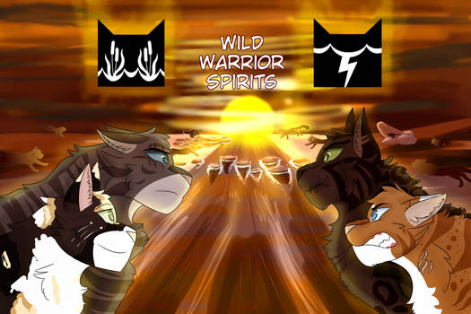 Wild Warrior Spirits Banner