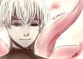 Kaneki Ken _ sketch by MaryCat83