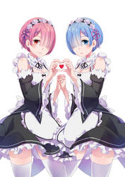 Re:Zero, Ram end Rem by MaryCat83