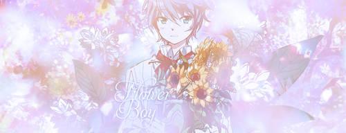 Flower Boy by MadderRed00
