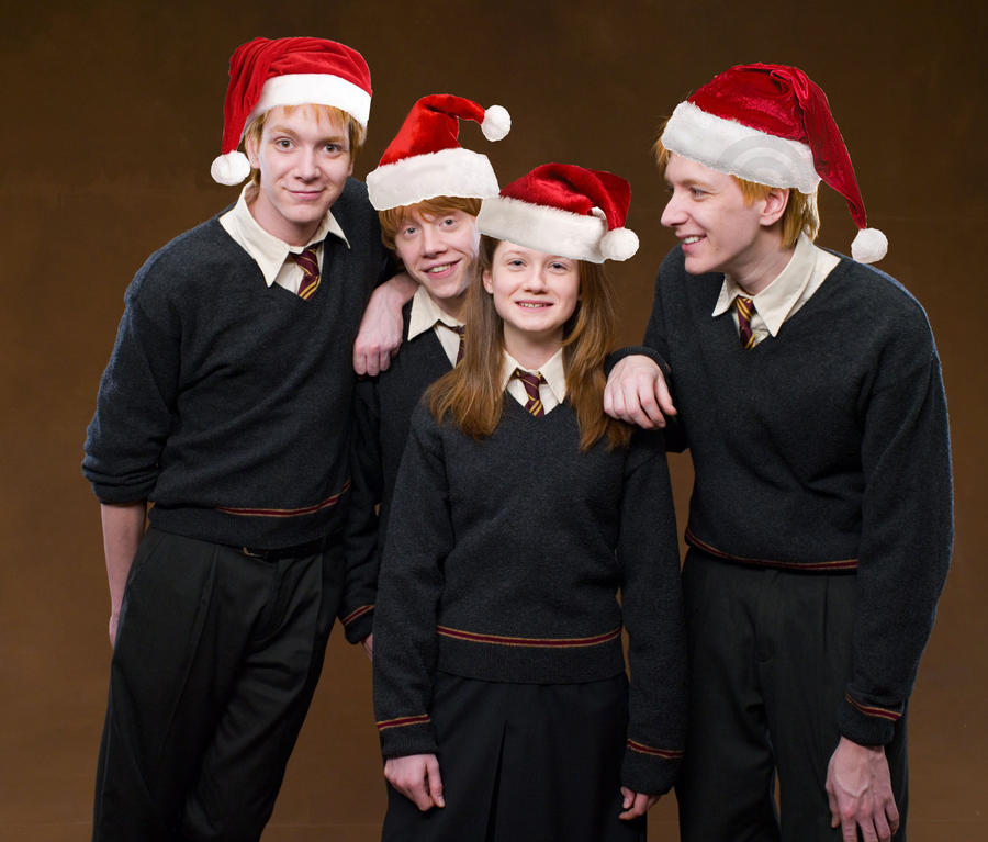 Have a Weasley Christmas by nhu-dles