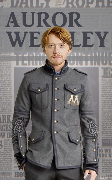 Auror Weasley v2 by nhu-dles
