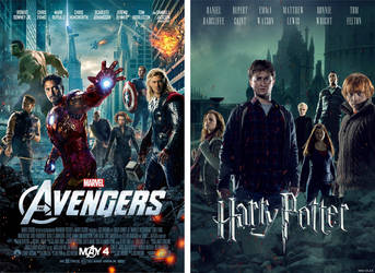 Poster Replication: The Avengers to Harry Potter