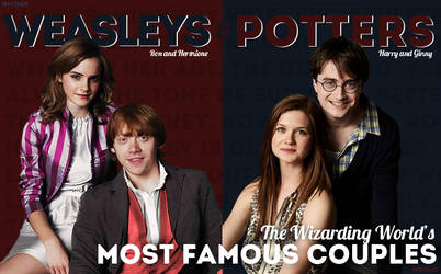 Wizarding Weekly Spread: The Weasleys and Potters