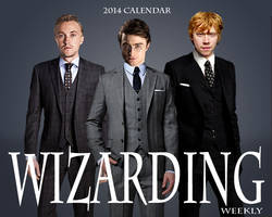 Wizarding Weekly Calendar: Cover