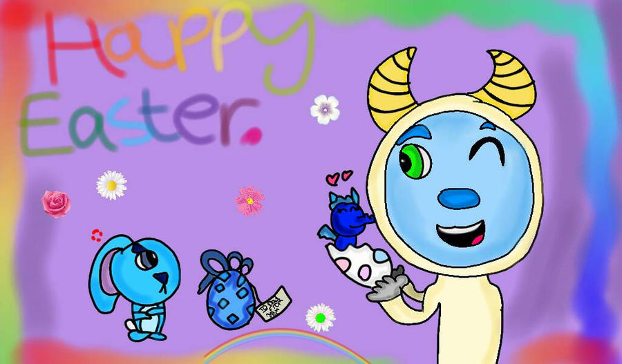 Happy Easter. by Burrowgirl2002