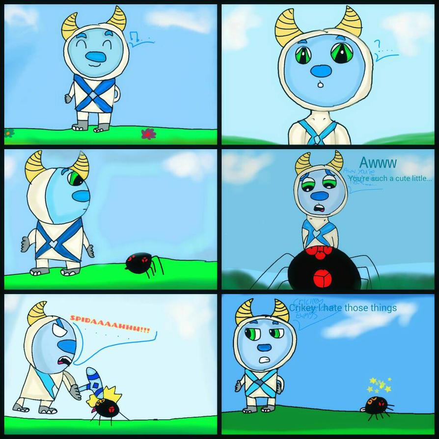 Comic: Bartholomew's worst fear. by Burrowgirl2002