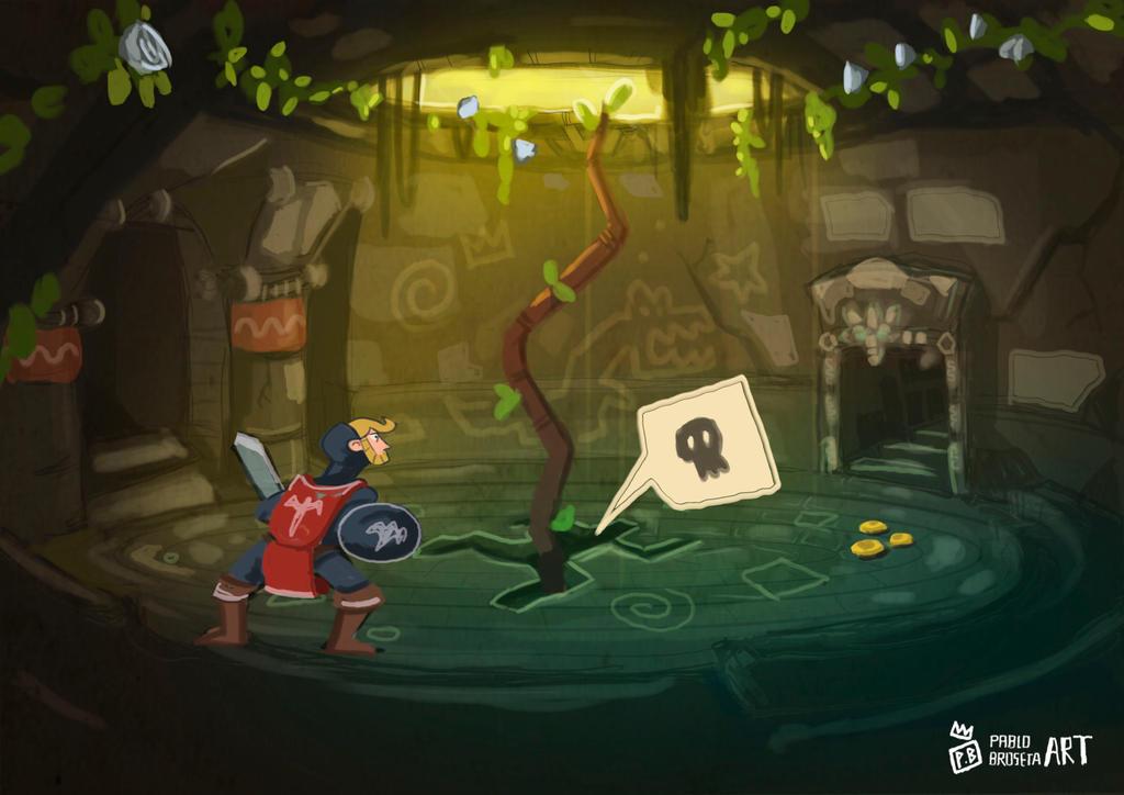 Dilema retro Game by pablobroseta