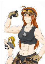 Girl Muscles!