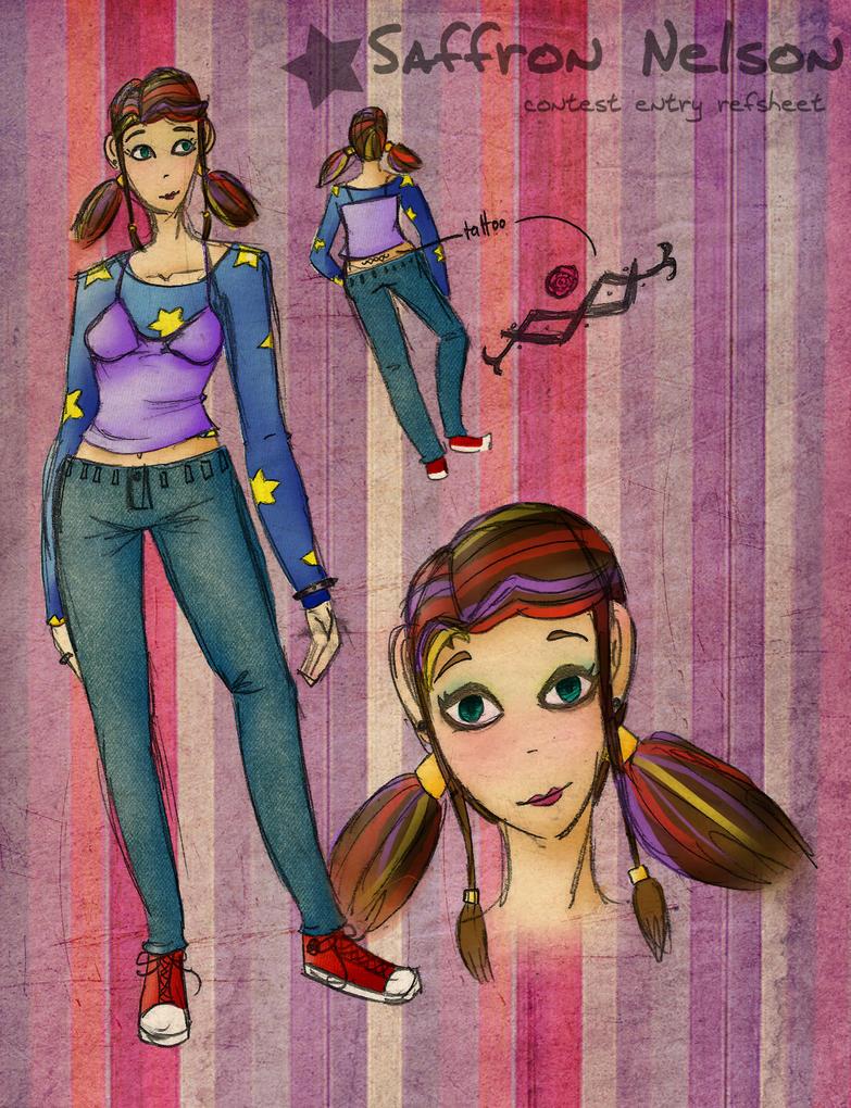 Character Design Contest : Character design contest entry by rachaelwrites on deviantart