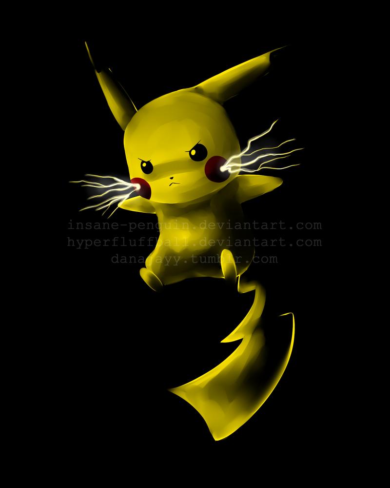 Pikachu Thundershock Sprite