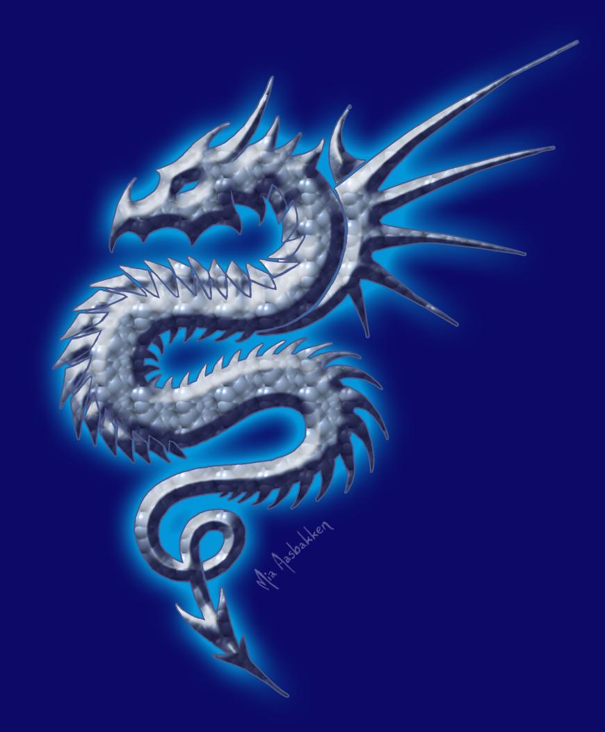 tribal dragon wallpaper by - photo #39