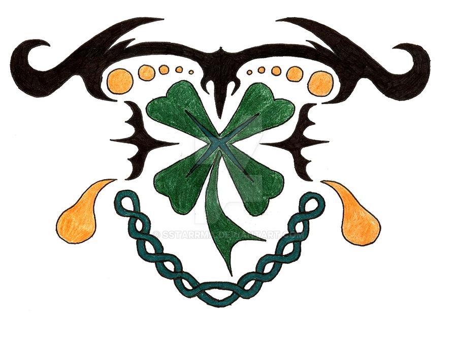 Four Leaf Clover tat des by sSTARRMa