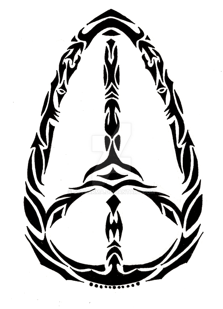 Tribal Peace Sign V1 by sSTARRMa