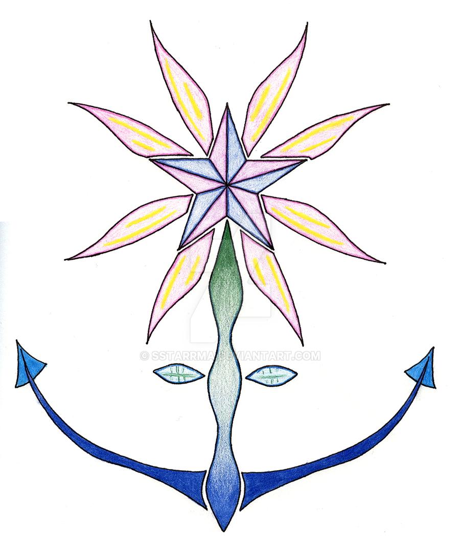Flower Anchor by sSTARRMa