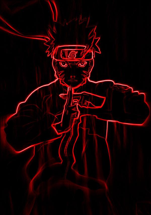foto de naruto kyuubi neon by Craiwolf on DeviantArt