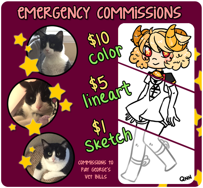 emergency commissions! by YummiMookies