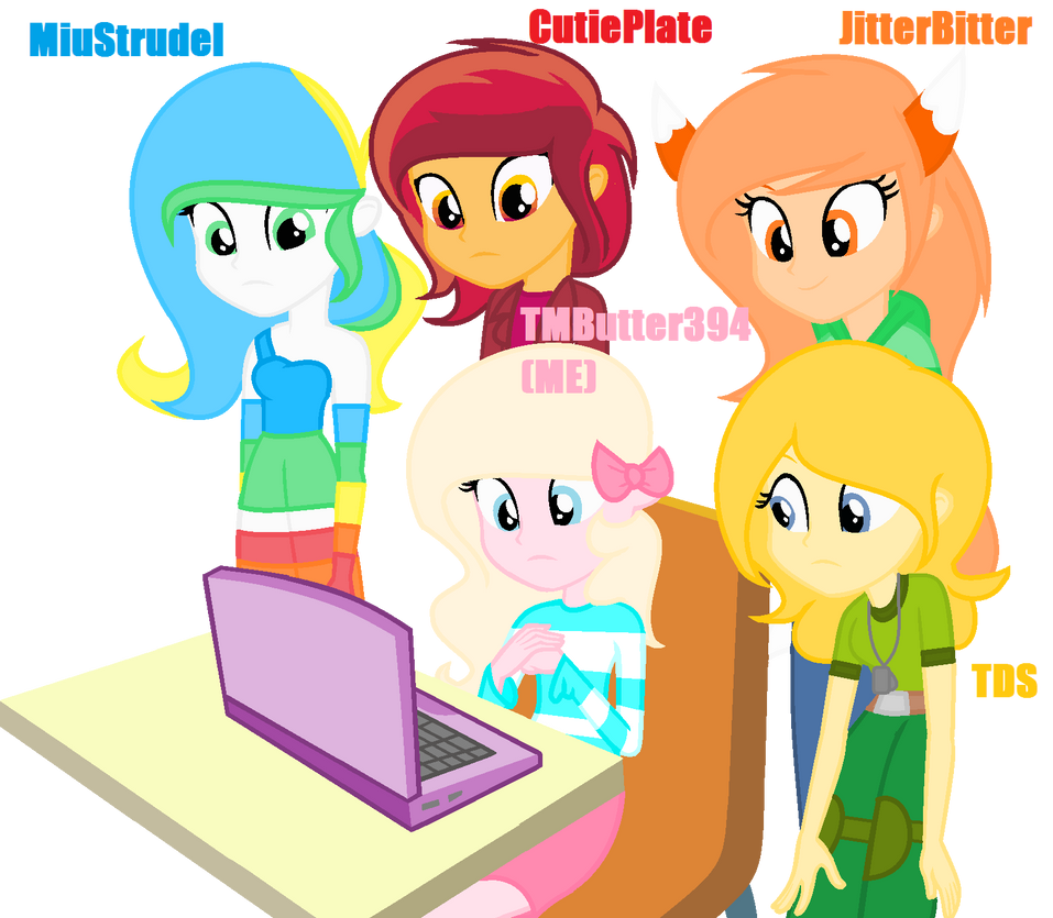 Me and Baes with laptop.... by TheMajesticButter394