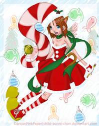 HAPPY CHRISTMAS MARSHMALLOWTOY by chibi-bunni-chan