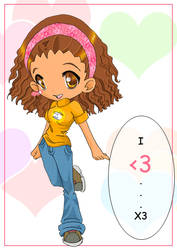 I heart Nos by chibi-bunni-chan
