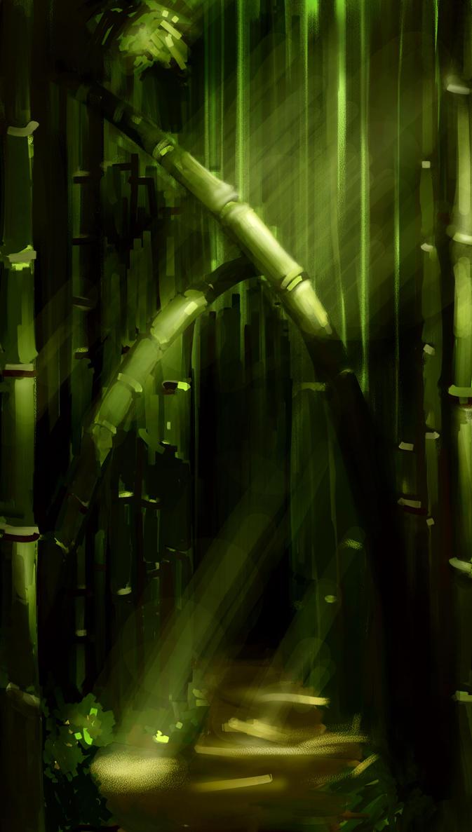 Bamboo Forest by haohaohayashi