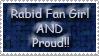 Rabid Fan Girl by Wesker-Chick