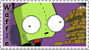 GIR and his Waffles by Wesker-Chick