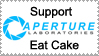 Support Aperture Lab Stamp by Wesker-Chick