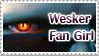 Wesker Fan GIRL Stamp by Wesker-Chick