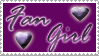Fan Girl Stamp by Wesker-Chick
