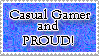 Casual Gamer Stamp by Wesker-Chick