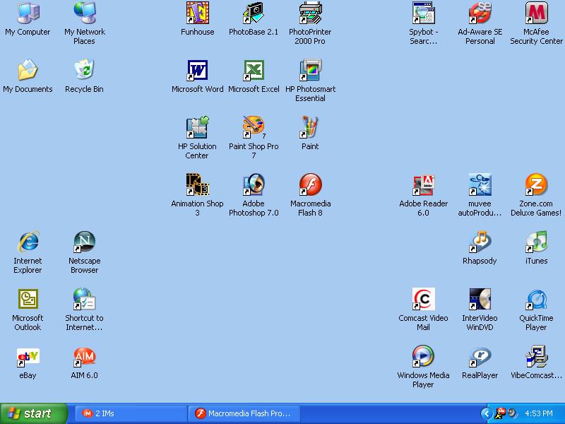 Desktop by HibiscusLily