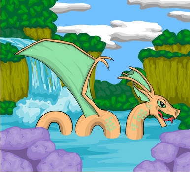 Water Dragon by Honey543