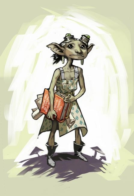 Raza: Goblins Goblin_by_lizzy_john-d5kblp9