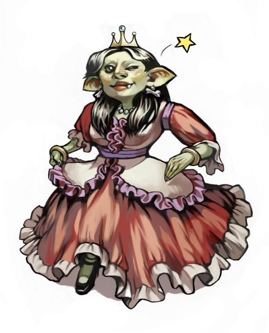 Raza: Goblins Princess_goblin_by_lizzy_john-d5ks5yi