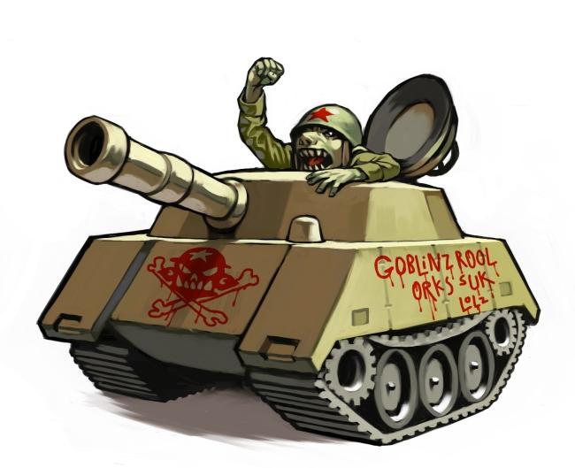 Tank Goblin by Lizzy-John